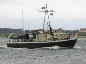 In 1985 werd de voormalige kustmijnenveger Lacomblé definitief eigendom van het zeekadetkorps Den Helder.